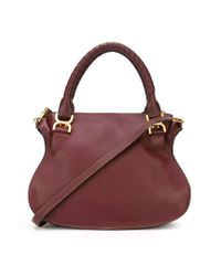 Chloé - Red 'Marcie' Tote - Lyst