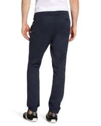 BOSS Green | Blue Regular-fit Jogging Trousers 'hadiko' In A Stretchy Cotton Blend for Men | Lyst