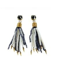 Lizzie Fortunato | Blue Oasis Earrings | Lyst