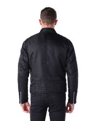 DIESEL - Black J-red Satin Bomber Jacket for Men - Lyst