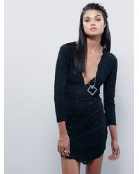 Free People - Black Intimately Womens Everything To Me Slip - Lyst