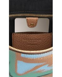 Burberry - Natural Large Hand-Painted Leather Beauty Wallet - Lyst