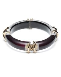 Alexis Bittar | Black Tapered X Bangle You Might Also Like | Lyst