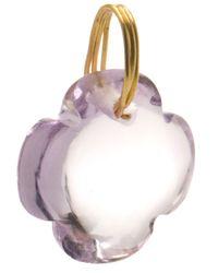 Marie-hélène De Taillac - Purple Quartz Clover Charm Pendant - Lyst