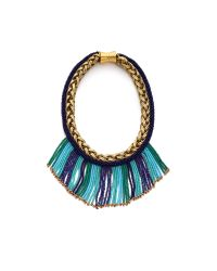 Bex Rox - Blue Mini Short Beaded Maasai Necklace - Turquoise - Lyst
