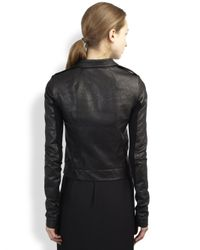 Rick Owens - Black Leather Stooges Jacket - Lyst