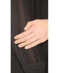 Gorjana | Metallic Nira Midi Ring Set - Gold | Lyst