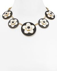 kate spade new york - Multicolor Mod Floral Statement Necklace 18 - Lyst