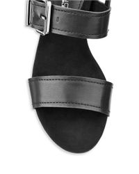 Bandolino | Black Gladis Slingback Wedge Sandals | Lyst