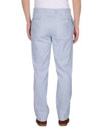 Luigi Bianchi Mantova | Blue Casual Trouser for Men | Lyst