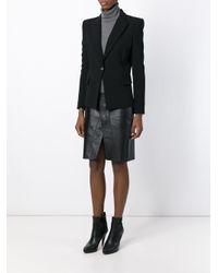 Balmain - Black Military Jacket - Lyst