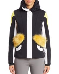 Fendi - Black Buggie Fur-trim Ski Jacket - Lyst