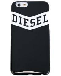DIESEL | Black Logo Print Iphone 6 Case for Men | Lyst