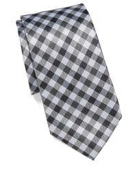 Vince Camuto - Black Pellico Gingham Slim Tie for Men - Lyst