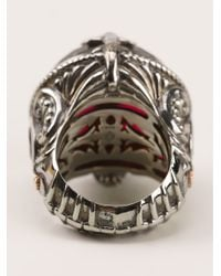 Stephen Webster - Metallic Fish Skeleton Round Ring - Lyst