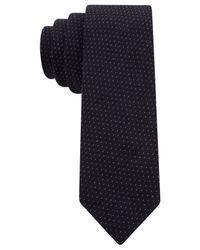 Tommy Hilfiger - Blue Diddy Pindot Skinny Tie for Men - Lyst