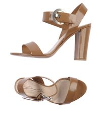 Grey Mer - Brown Sandals - Lyst