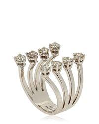 Delfina Delettrez | Natural Dots Diamonds Ring | Lyst