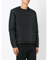 Our Legacy - Black Padded Sweater for Men - Lyst