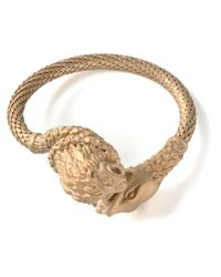 Valentino | Metallic Lion and Snake Bracelet | Lyst