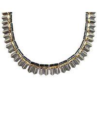 Lulu Frost - Metallic Wavelength Necklace - Lyst