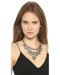 Shourouk - Pink Princess Necklace Comet - Lyst