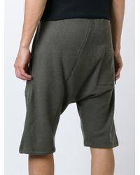 Silent - Damir Doma - Green 'penias' Shorts for Men - Lyst