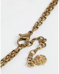 Pieces - Metallic Naomi Gold Foot Chain - Lyst