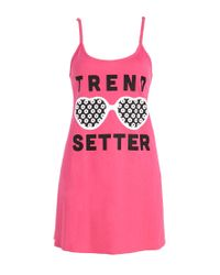 Forever 21 - Pink Trend Setter Nightdress - Lyst