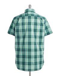 Victorinox | Green Plaid Sportshirt for Men | Lyst
