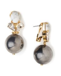 Lele Sadoughi | Metallic Knocker Earrings | Lyst
