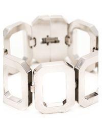 Rebecca - Metallic 'elizabeth' Link Bracelet - Lyst