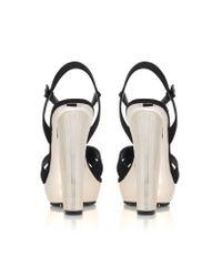 Carvela Kurt Geiger | Black Gone High Heel Platform Sandals | Lyst