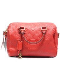 Louis Vuitton - Orange Preowned Orient Monogram Empreinte Speedy Bandouliere 25 Bag - Lyst