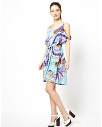 Traffic People | Blue American Indian Midi Dress | Lyst