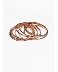 & Other Stories - Metallic Thin Rings - Lyst