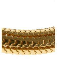 Gas Bijoux | Metallic Cobra Bangle | Lyst