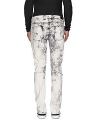 Neil Barrett | Black Denim Trousers for Men | Lyst