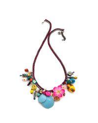 Venessa Arizaga - Multicolor Luau Necklace - Lyst