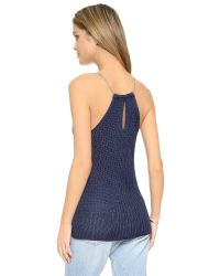 Ramy Brook - Blue Adeline Tank - Lyst