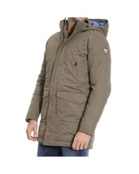 Rossignol | Green Down Jacket for Men | Lyst