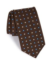 John W. Nordstrom | Brown John W. Nordstrom 'generation' Floral Tie for Men | Lyst