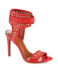 Enzo Angiolini | Red Booka Heels | Lyst
