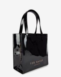 Ted Baker - Black Bow Detail Small Shopper Bag - Lyst