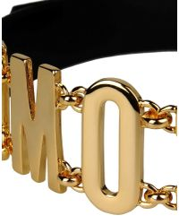 Moschino - Black Belt - Lyst