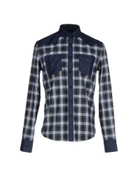 Les Hommes | Blue Shirt for Men | Lyst