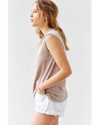 Cotton Citizen - Natural Marabella Muscle Tee - Lyst