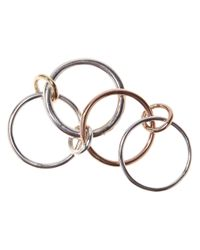 Spinelli Kilcollin - Metallic Lyra Stackable Ring - Lyst