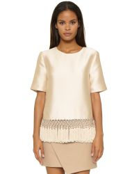C/meo Collective | Natural Break Free Top | Lyst