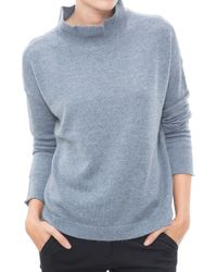 INHABIT | Blue Open Back Sweater | Lyst